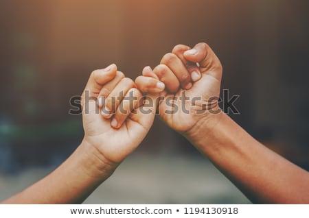 Friendship concept Stock photo © hsfelix