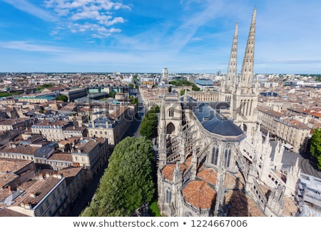 Saint Andre Cathedral on Place Pey-Berland in Bordeaux  Stock photo © benkrut