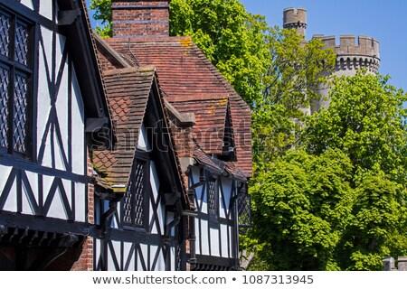 Stock fotó: Város · nyugat · Sussex · utcakép · épületek · vezetés