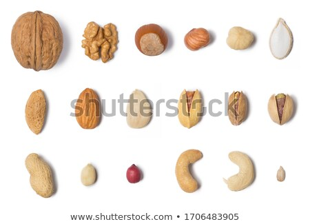 Collection of different nuts Stockfoto © netkov1