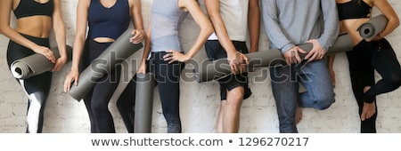 workout fashion concept banner header stock photo © rastudio