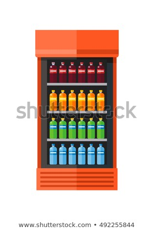 Drinking water in juice dispenser cooler Stock photo © smuay