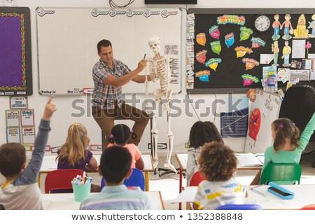 Leraar uitleggen school kinderen Stockfoto © wavebreak_media