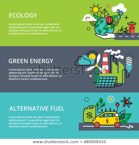 Alternative fuel concept vector illustration. Stock photo © RAStudio