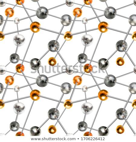 серебро аннотация химической структуре Сток-фото © evgeny89
