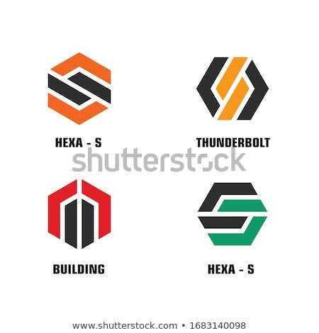 Onroerend bedrijf logo huis gebouw home Stockfoto © sahua