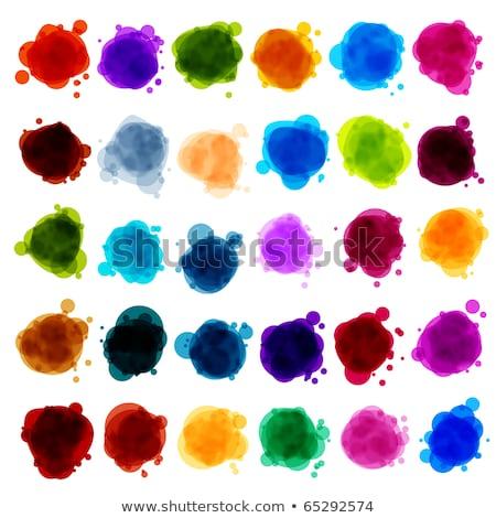 Buborékok beszéd átláthatóság eps vektor akta Stock fotó © beholdereye
