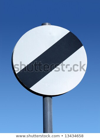 British national speed limit applies sign. Stock photo © latent