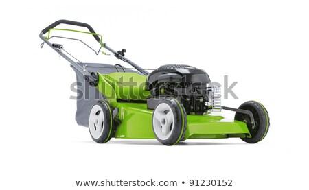 lawn working 02 Stock photo © LianeM