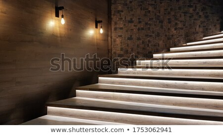 Stairs and lights Stock photo © jakatics