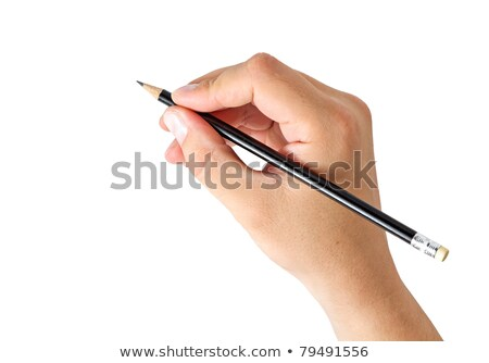 womans hand holding a pencil stock photo © vlad_star