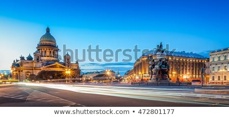 Saint Isaac's Cathedral (Isaakievskiy Sobor) in Saint Petersburg Stock photo © AndreyKr