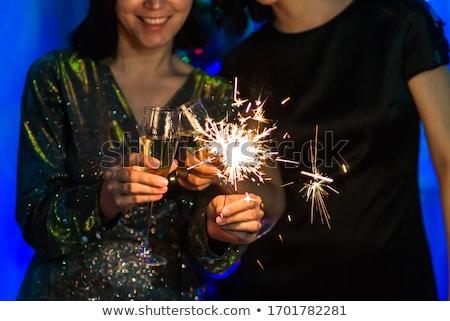 Champagne sparkle Stock photo © Sandralise