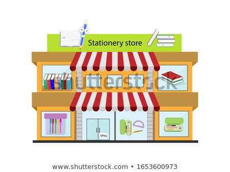 Stationery store Stock photo © zzve