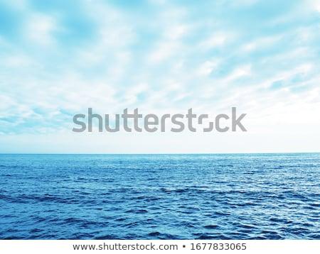 Pacific ocean and sky. Stock photo © iofoto