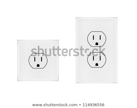 electric outlet with clipping path stock photo © sqback