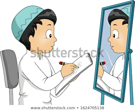 little boy drawing stock photo © photography33