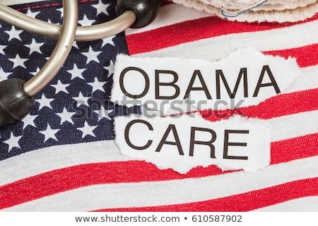 страхования · карт · макроса · выстрел · Соединенные · Штаты - Сток-фото © ivelin