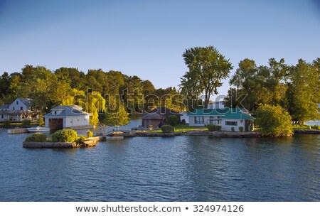 власти дома Онтарио озеро Канада красивой Сток-фото © Elenarts