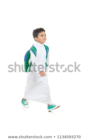 Young smiling arab isolated on white stock photo © vlad_star