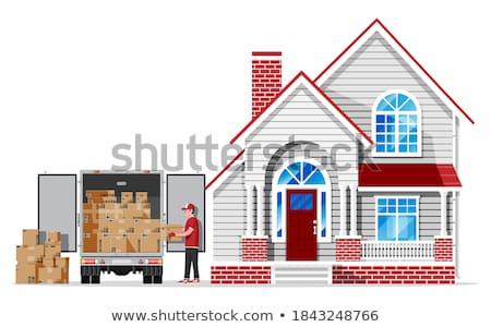 wooden transporter Stock photo © compuinfoto