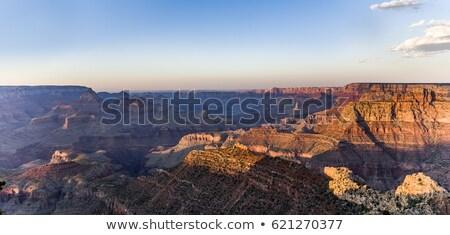 Fantástico ver Grand Canyon ponto sul colorido Foto stock © meinzahn