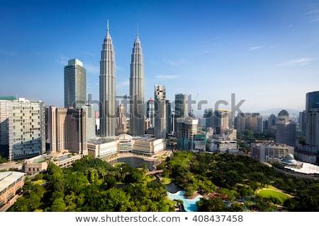 Kuala Lumpur vista Malasia Foto stock © juniart