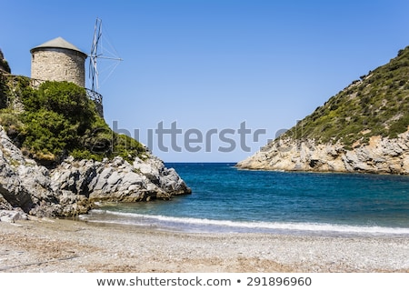 Rocky Beach of alonissos, Greece Stock photo © ankarb