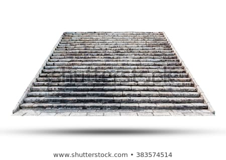 Ruined Staircase stock photo © mpetersheim