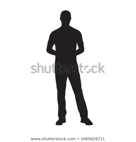 Businessman standing with hands on hips Stock photo © wavebreak_media