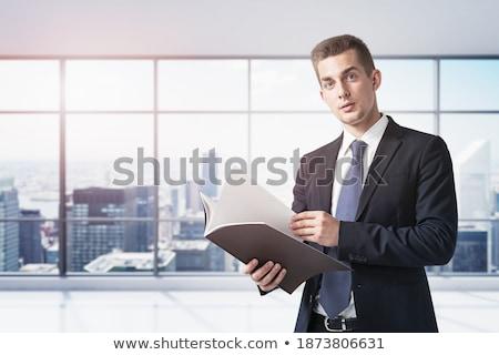 Professionals on Office Folder. Toned Image. Stock photo © tashatuvango