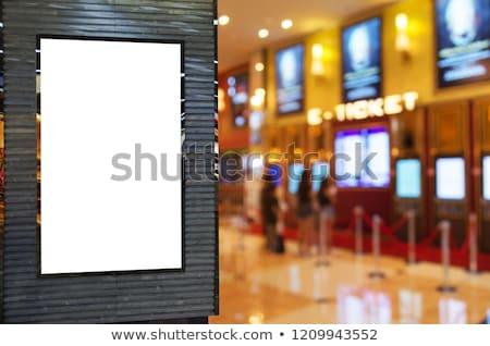 kamera · film · şeridi · altın · bilet · mavi · sanayi - stok fotoğraf © netkov1
