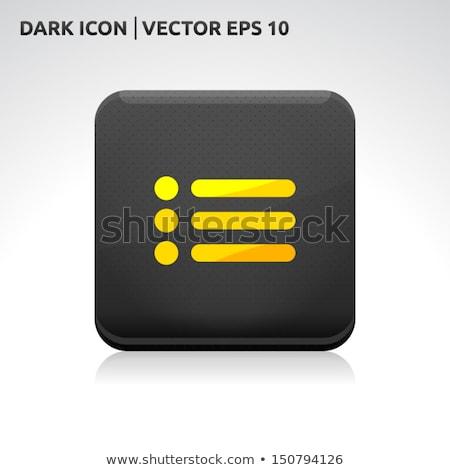 E-mail vector gouden web icon web mail Stockfoto © rizwanali3d