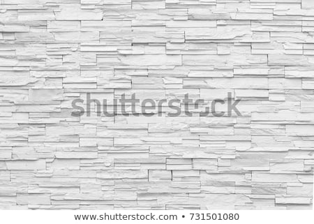 カラフル メーソンリー 壁 石 建設 家 ストックフォト © lunamarina