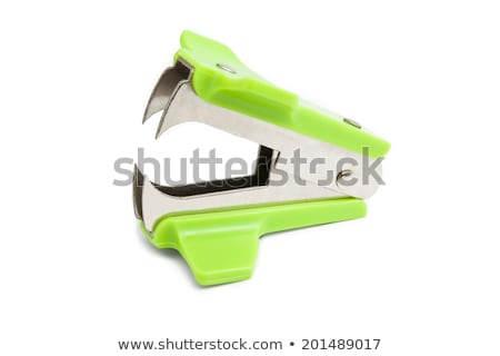 Staple remover isolated Stock photo © michaklootwijk