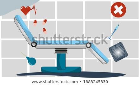 красный Председатель таблетки белый Сток-фото © stockfrank
