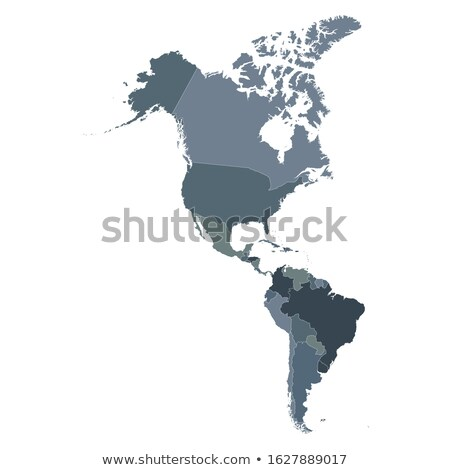 North, South, and Central AMERICA, Global World Stock photo © fenton