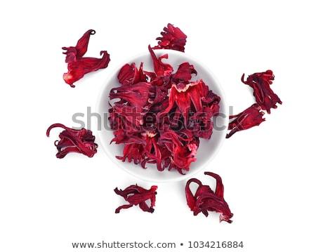 Kurutulmuş ebegümeci çanak çiçek Stok fotoğraf © Digifoodstock