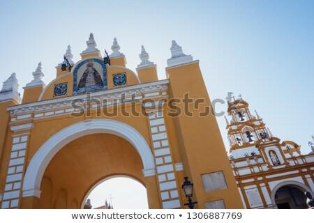 Szűz templom utazás út remény ősi Stock fotó © lunamarina