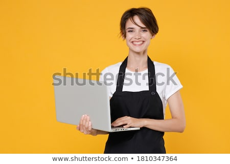 Woman using digital tablet computer for internet browsing Stock photo © stevanovicigor