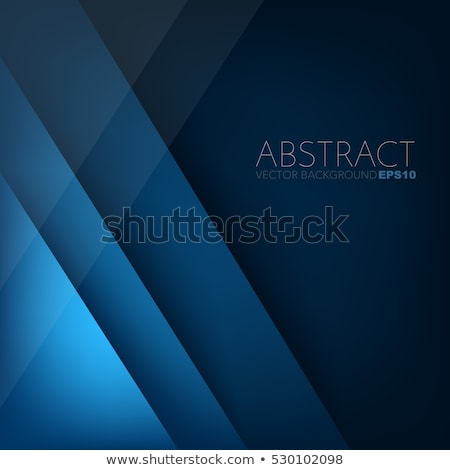 abstract background with overlapping blue cubes stock photo © swillskill