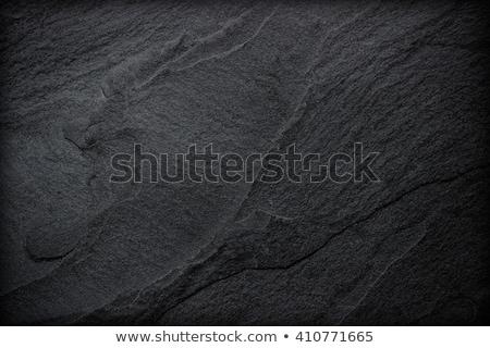 Black slate boards on dark background Stock photo © vankad