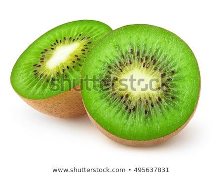 Сток-фото: киви · свежие · плодов · Cut · разделочная · доска