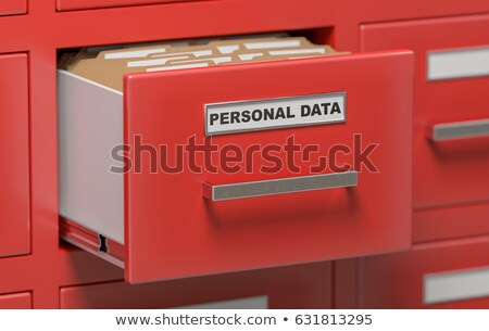 Folder Register Deposit. 3D. Stock photo © tashatuvango