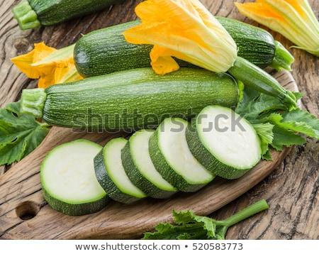 raw fresh zucchini  Stock photo © M-studio