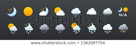 Météorologiques illustration blanche ciel soleil résumé Photo stock © get4net