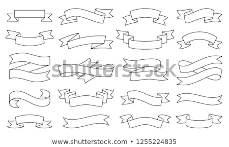 modern creative banners set with linear icons stock photo © robuart