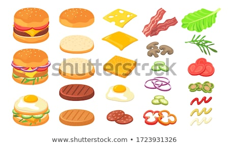 vector set of sandwich Foto stock © olllikeballoon