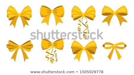 Set from bows Stock photo © ElenaShow