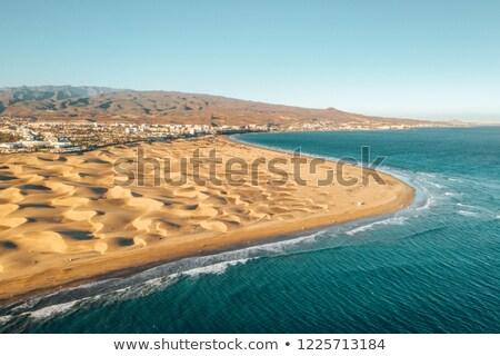 песок Испания панорамный мнение Канарские острова Сток-фото © nito